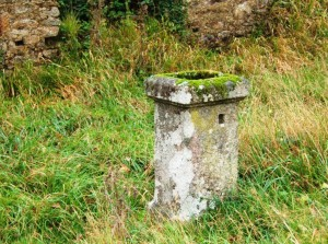 12 Una de las pilastras de cantería